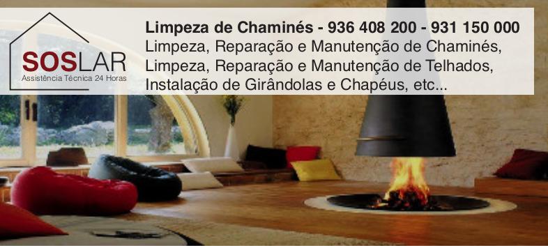 Limpeza de ChaminésBaião - Serviço ao Domicílio