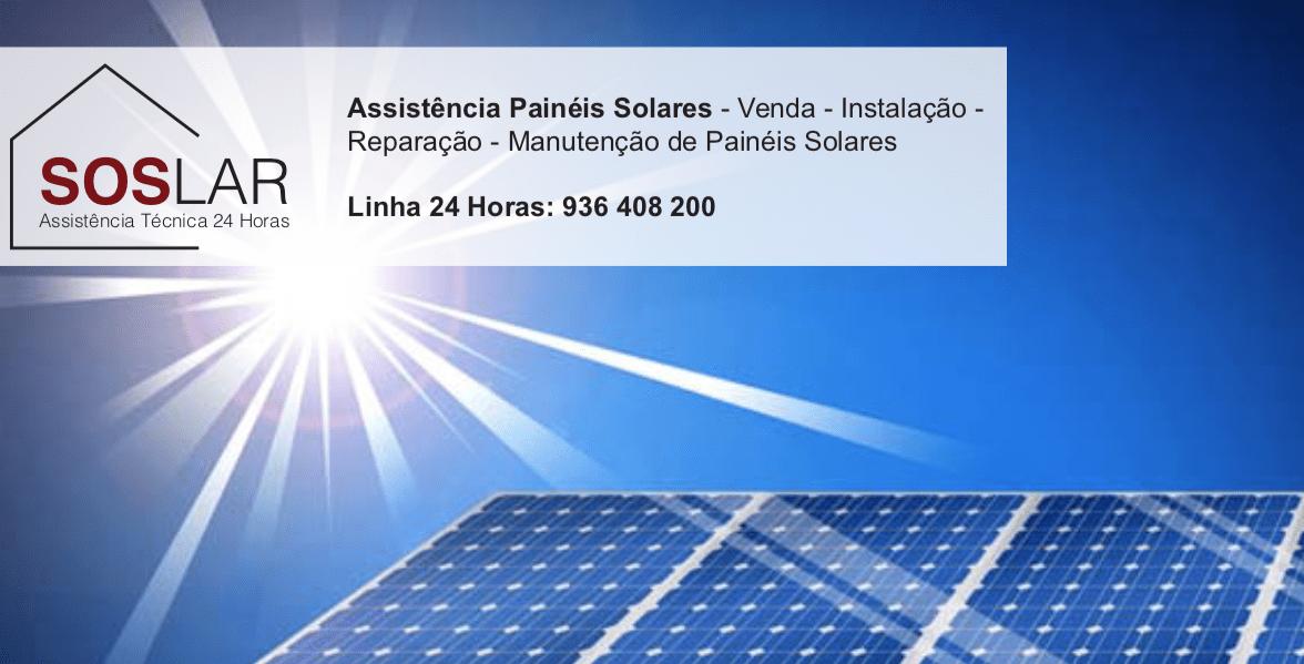 Assistência Painéis Solares Moita