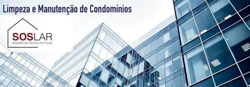 Limpeza e manutenção de Condomínios